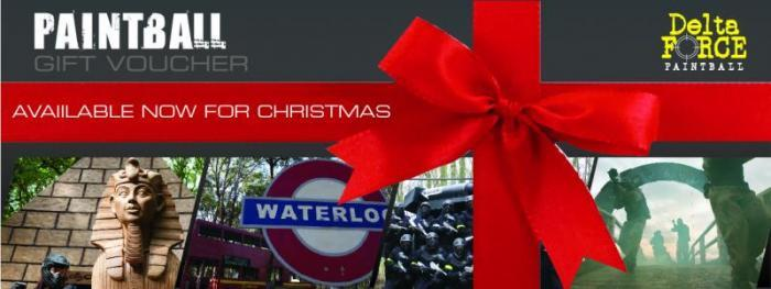 Delta Force Paintball Christmas voucher