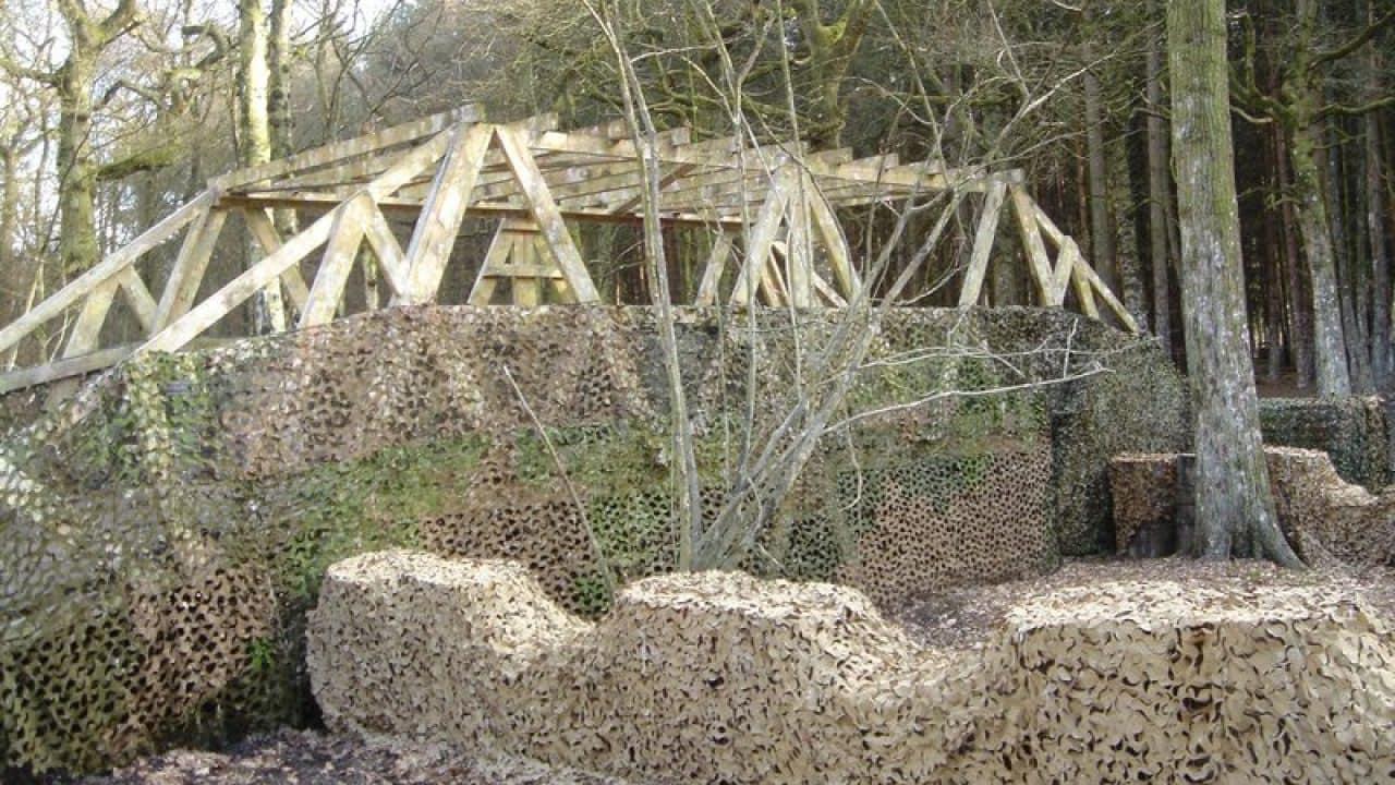 Camouflaged Bridge In Bridge Too Far Game Zone