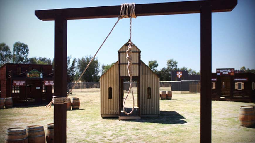 Noose And Church At Gold Rush Game Zone