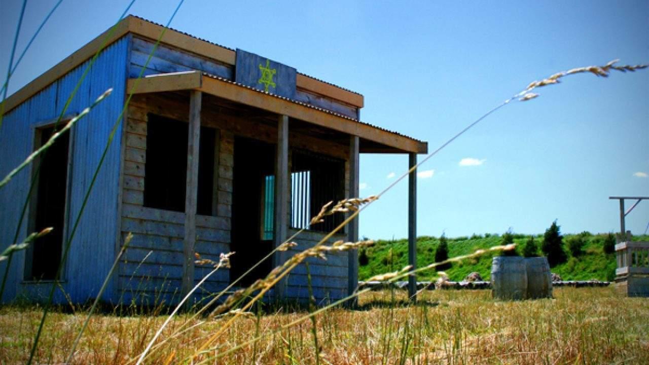 Sheriff's office on village outskirts