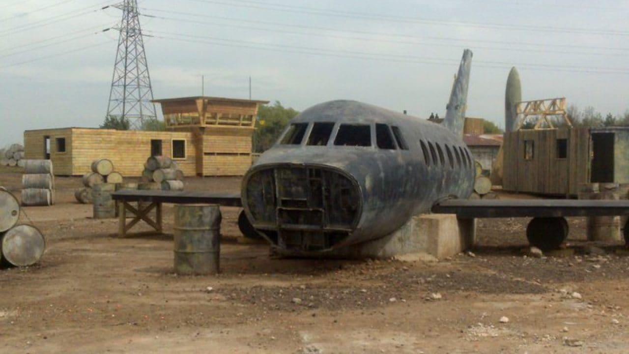 Nose Taken Off Plane In Jet Hijack Game Zone