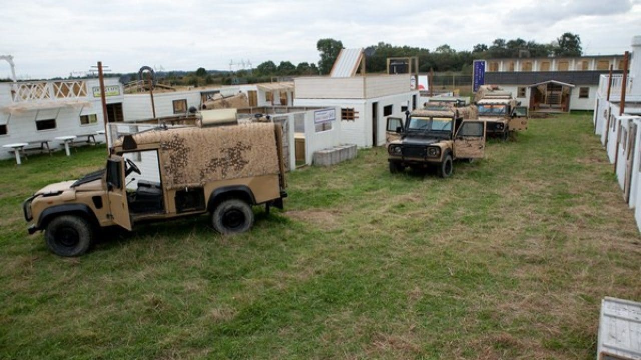 Military Vehicles In Operation Desert Storm Game Zone