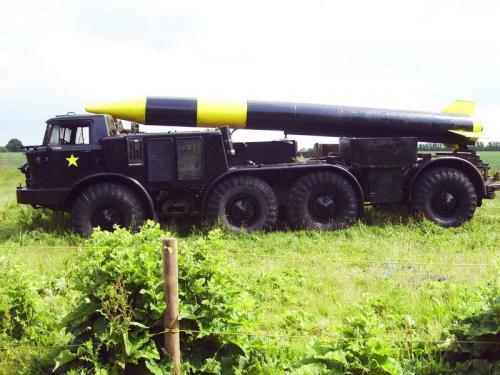Bond Film Scud Missile