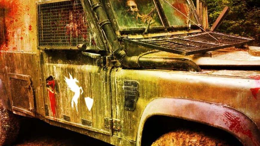 Zombie Military Truck At Apocalypse Bunker Game Zone