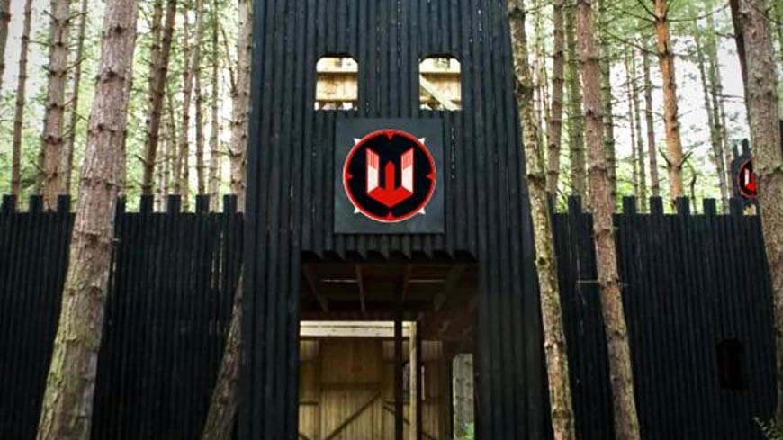 Entrance To Delta Force Castle Wallenberg Game Zone