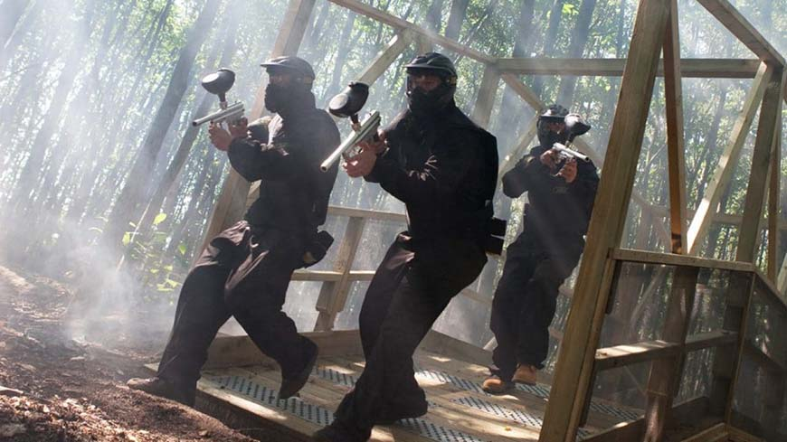 Delta Force Players In Kit Storm Bridge
