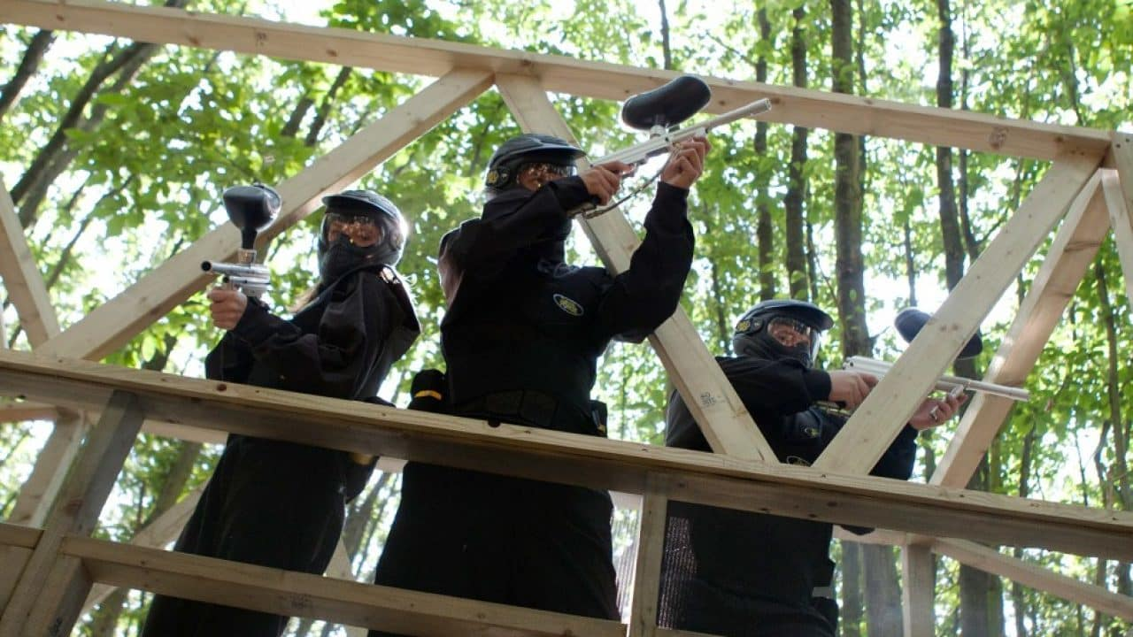 Delta Force Players Fire Off Bridge Enemy At The Gates