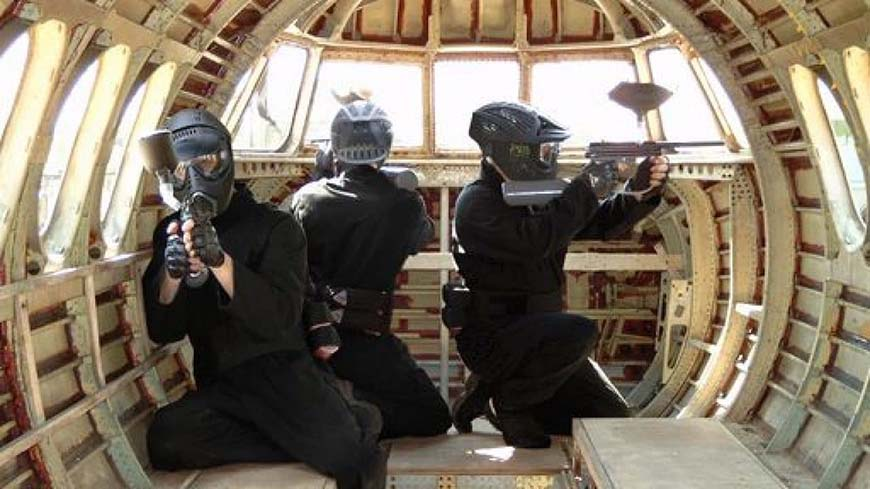 Delta Force Players Sat Inside Jet On Game Zone