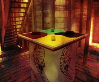 Model Artefact Inside Temple Run Game Zone