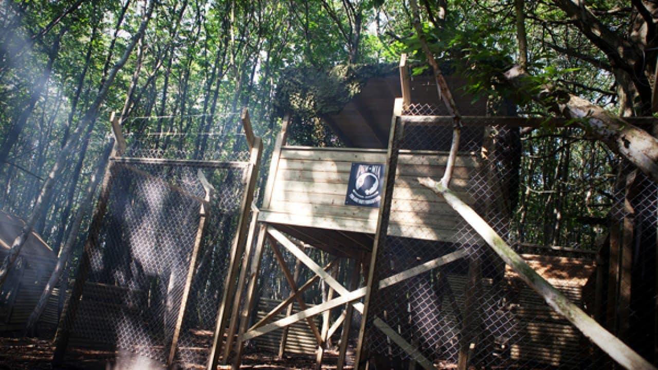 Tower At Vietcong Village Game Zone