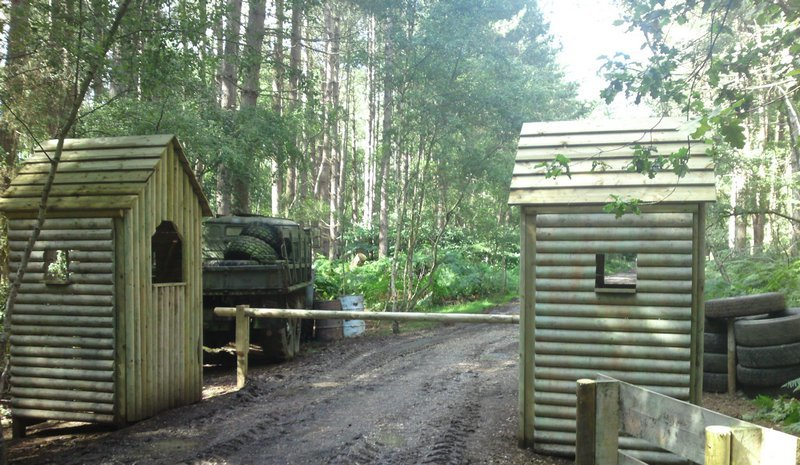 Delta Force Border Crossing Gate Game Zone