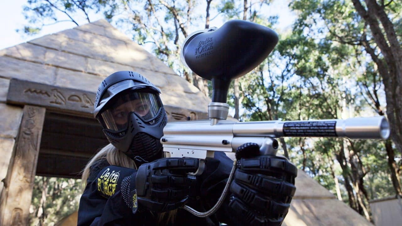 Delta Force Paintball Player By Pyramid In Kit