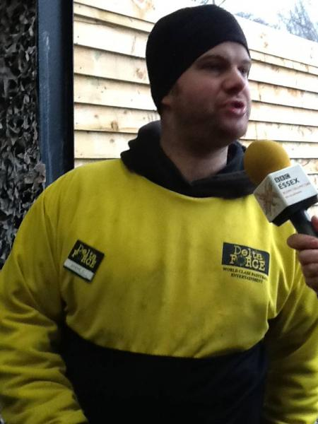 bbc interview delta force paintball billericay manager