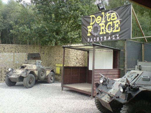 Base Camp in Paintball Reading