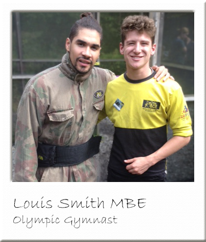 Louis Smith Paintballing