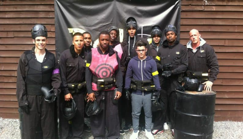 Diversity Dance Group at Paintball Essex