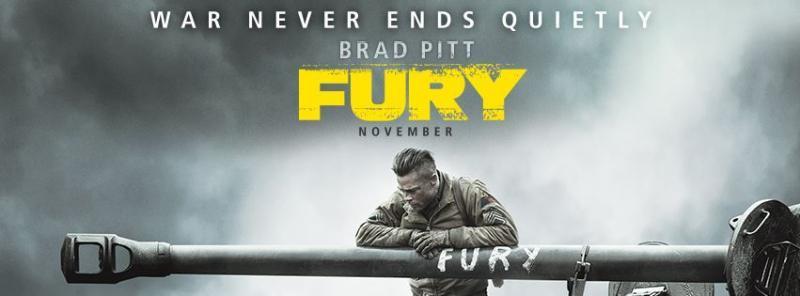 'Fury' film poster