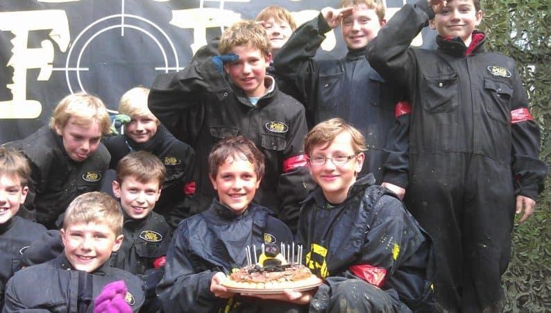 Birthday Celebration at Delta Force Paintball