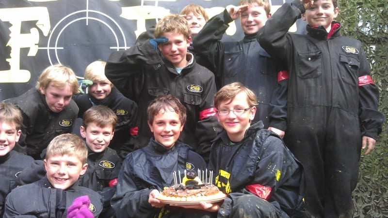Birthday Celebration at Delta Force Paintball