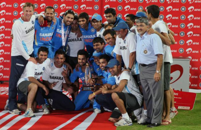 Indian Cricket team in Gerrards Cross