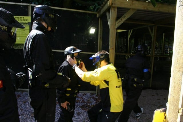 Paintball Goggle Safety Check
