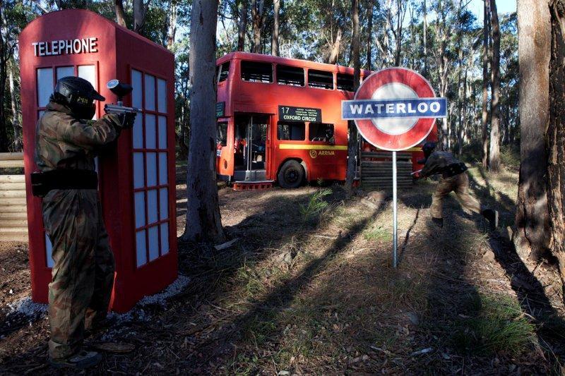 london bus trashed