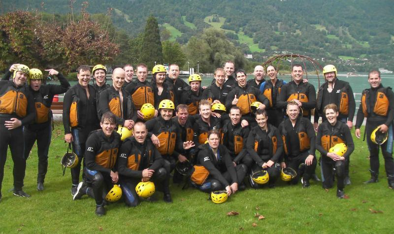 Delta Force centre managers together in Switzerland
