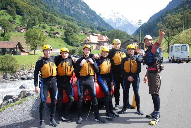 Delta Force managers prepare for white-water-rafting