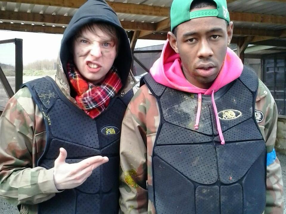 Tyler, the Creator and Phil Taggart