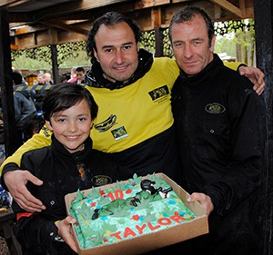 Robson Green, son, and marshal