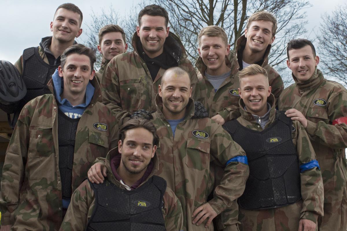 TOWIE Paintball