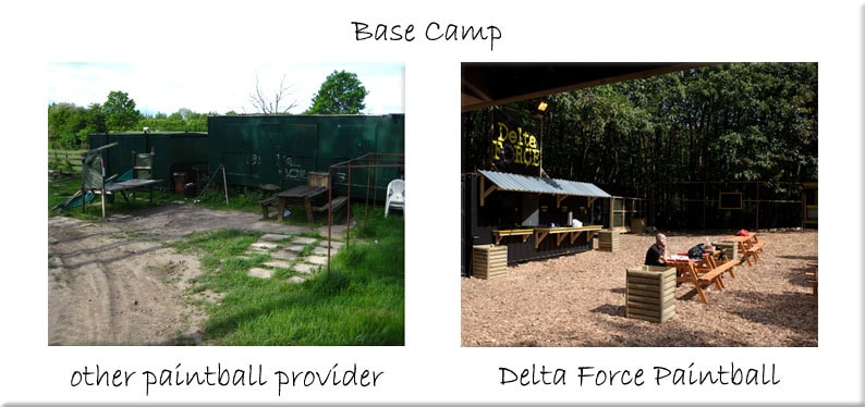 Paintball Base camp