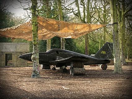 Birmingham centre jet fighter prop