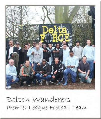 Bolton Wanderers at Manchester Paintball Centre