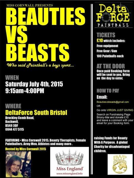 'Beauties vs Beasts' poster