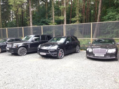 Newcastle players' cars