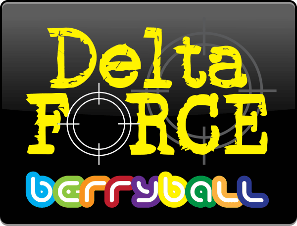 Delta Force Paintball Berryball Logo