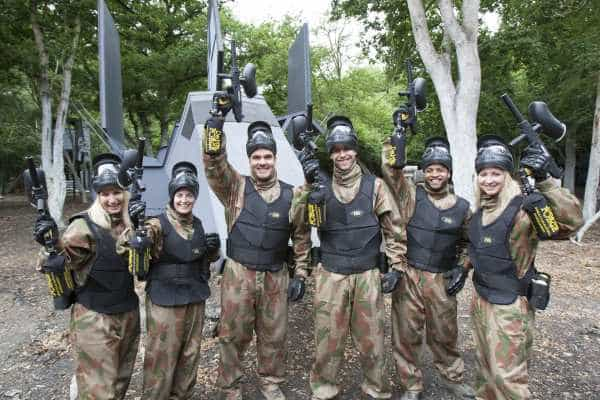 delta force paintball deals group