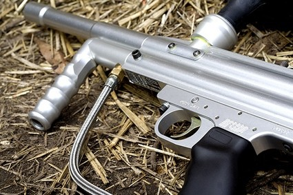 Upgraded lightweight paintball gun