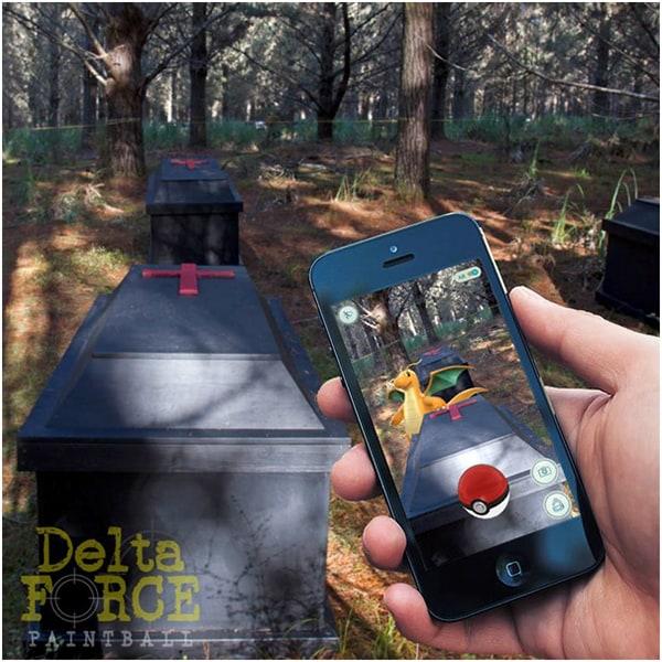 Delta Force Pokemon Go Charizard