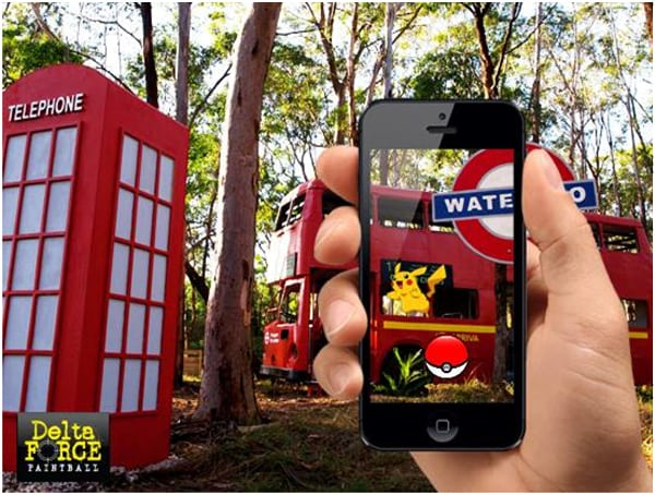 Pokemon Go in London Apocalypse