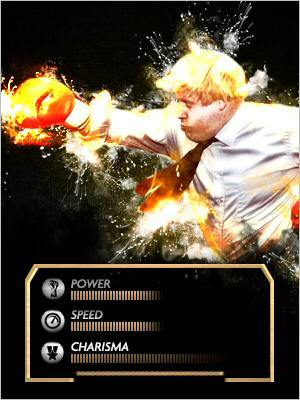 Boris Johnson Downing Street FIghter