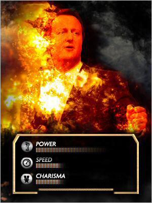 Downing Street Fighter David Cameron