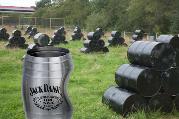 Jack Daniels dented barrel
