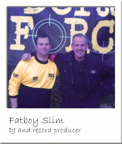 Fatboy Slim Paintballing in Billericay