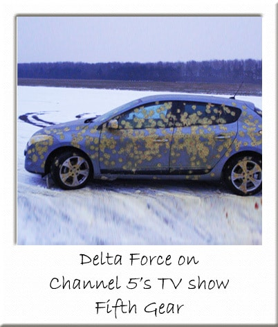 Delta Force Paintball on Fifth Gear