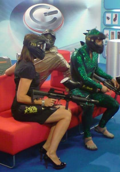 Delta Force on the Gadget Show