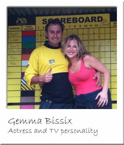 Gemma Bissix At Surrey Paintball Centre