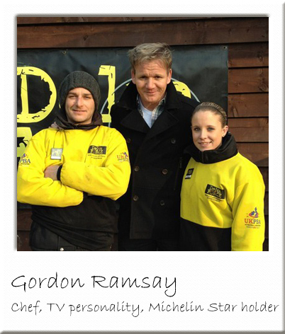 Gordon Ramsey at Paintball Surrey