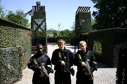 Paintball experience at homewood,Central Paintball london location